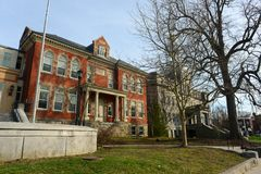 Townsend Industrial School, Newport, Rhode Island Royalty Free Stock Image