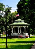 Townsend, MA: Village Green-Bühne Lizenzfreies Stockbild