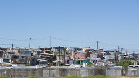 Township Cape Town, South Africa Royalty Free Stock Photography
