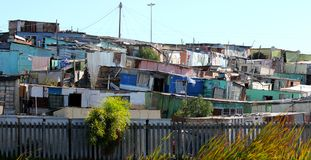 Township housing, Cape Town Stock Image