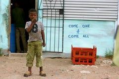 Township kid Stock Photo