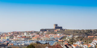 The township of Marstrand royalty free stock photography