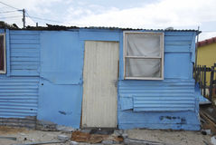 Township outside cape town Stock Image