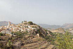 Township of Polop de la Marina Stock Photography
