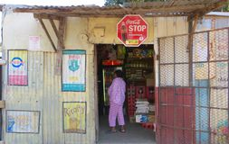 Township Shop Stock Photos