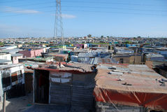 Township, south africa. Shackland in Khayelitsha Township, South Africa Stock Photography