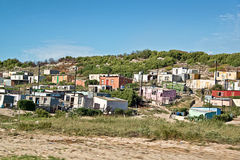 Township, South Africa Royalty Free Stock Images