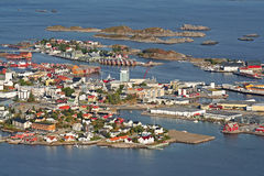 Township of Svolvaer Royalty Free Stock Images