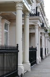 Townshouses in London Royalty Free Stock Photo