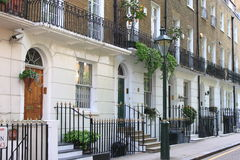Townshouses in London Stock Image