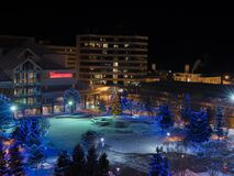Townsquare Anchorage Alaska Royalty Free Stock Photography