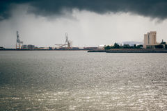 Townsville Harbour - stormy Royalty Free Stock Images