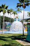 Townsville water splash Royalty Free Stock Photography