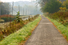 Towpath trail Royalty Free Stock Images