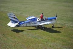Towplane Rallye Morane Royalty Free Stock Images