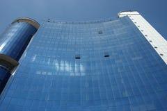towr этажа голубой темной дома multi Стоковые Изображения RF