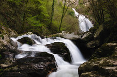 Toxa waterfall. In Silleda, Pontevedra, Spain Stock Photos