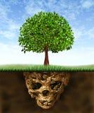 toxic почвы Стоковые Фото
