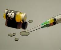 Toxic ampule Stock Image