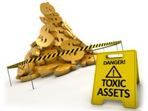 Toxic assets concept Royalty Free Stock Photography
