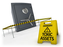 Toxic assets concept Royalty Free Stock Images