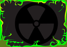 Toxic background image Royalty Free Stock Photography