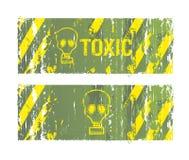 Toxic backgrounds Stock Photos