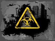 Toxic city Royalty Free Stock Image