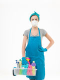 Toxic cleaning Stock Photos