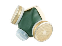 Toxic dust respirator Royalty Free Stock Photography