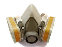 Toxic dust respirator Royalty Free Stock Image