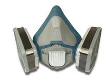 Toxic dust respirator Stock Photo