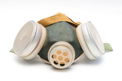 Toxic dust respirator Royalty Free Stock Photos
