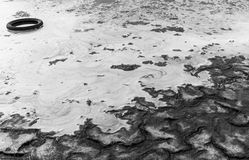 Toxic foam Royalty Free Stock Photos