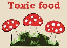 Toxic food Royalty Free Stock Photos