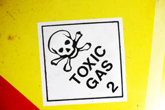 Toxic Gas Royalty Free Stock Images