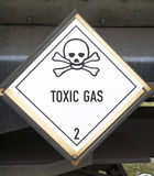 Toxic gas symbol Royalty Free Stock Images