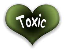 Toxic Heart Stock Photo