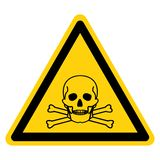 Toxic Material Symbol Sign Isolate On White Background,Vector Illustration royalty free illustration