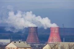 Toxic pollution. Danger toxic pollution of environment Stock Photos
