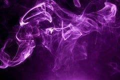 Toxic purple smoke. Background texture royalty free stock image