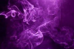 Toxic purple smoke. Toxic purple smoke, Texture closeup smoke royalty free stock photography