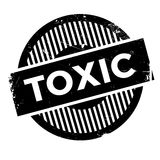 Toxic rubber stamp Royalty Free Stock Images