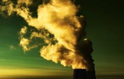 Toxic smoke Stock Image