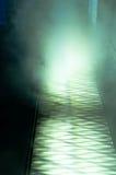Toxic smoke rising. From sewer royalty free stock image