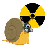 Toxic snail Royalty Free Stock Photo