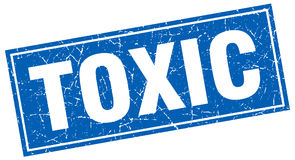 Toxic stamp Stock Photography