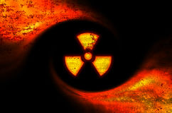 Toxic symbol abstract background Stock Photography