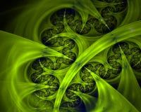 Toxic tentacles fractal stock photo