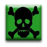 Toxic Warning Royalty Free Stock Photos